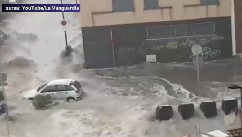 spania inundatii