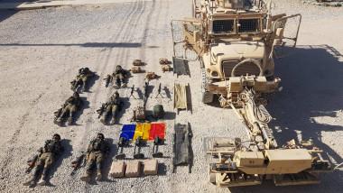 militari români tetris