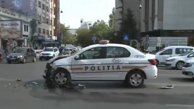 accident-masina-politie-magheru-bucuresti