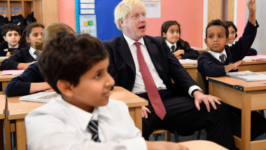 Prime Minister Visits London Primary School