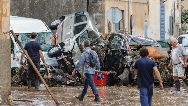 Island OF Mallorca Hit By Fatal Flash Flooding