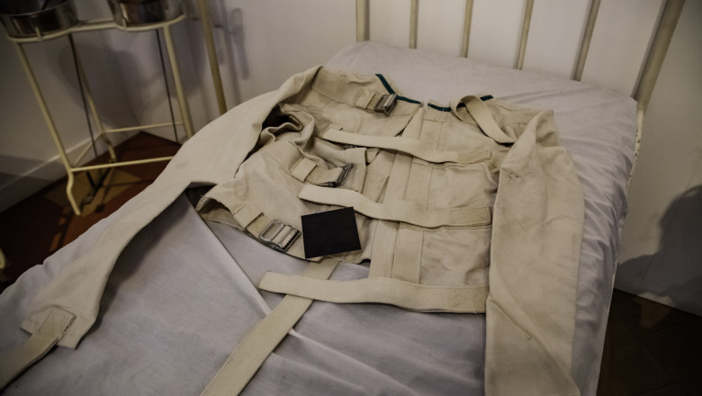 Old psychiatric straitjacket