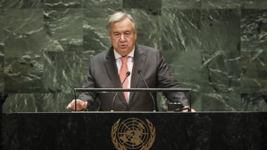 Antonio Guterres secretarul general al onu