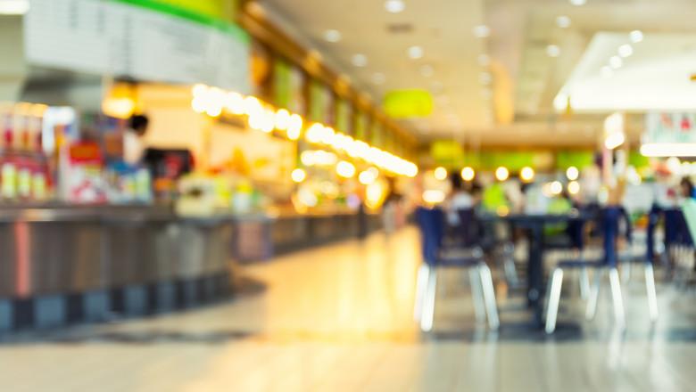 Food Court Blurred