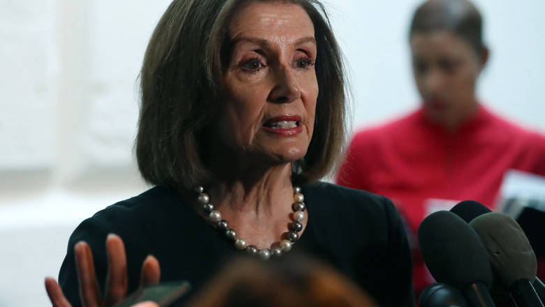 House Democratic Caucus Holds Closed Door Meeting Day After Speaker Pelosi Announces Impeachment Inquiry