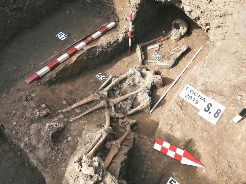 săpături arheologice Târgu Ocna