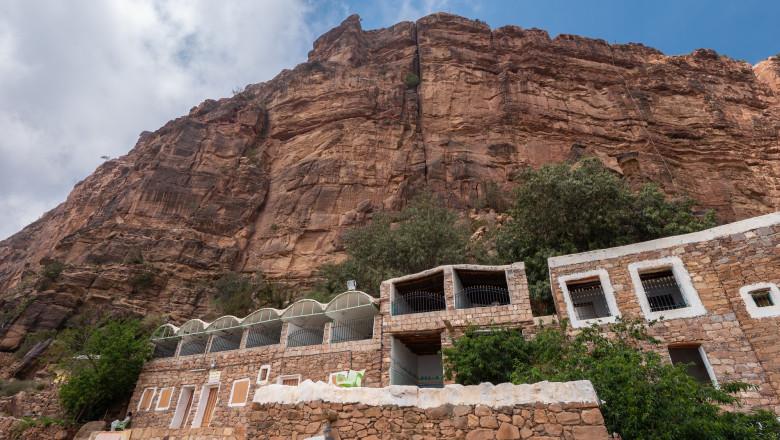 Hanging Village of Habala, Western Saudi Arabia