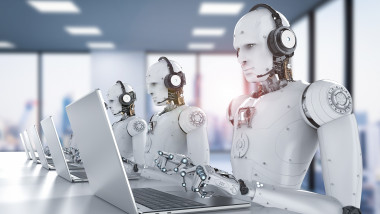 robots call center