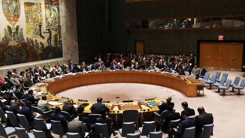United Nations Security Council Discusses Syria