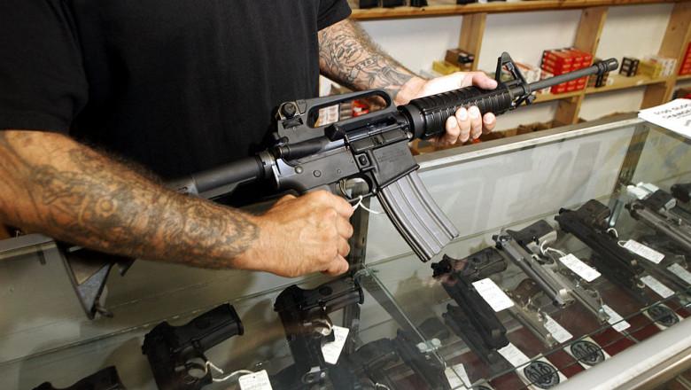 Arma de asalt AR 15