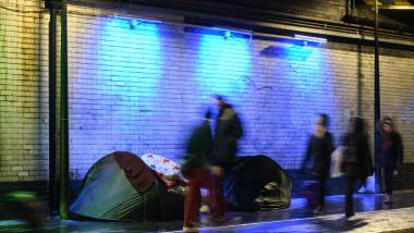 tabără ilegală, Marea Britanie