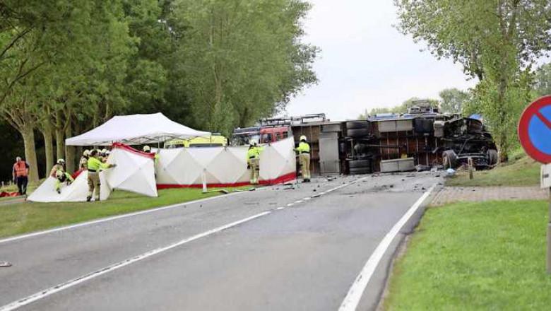 accident sinucis olandez - marcel van dorst der telegraaf