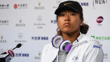 Jucatoarea de tenis Naomi Osaka