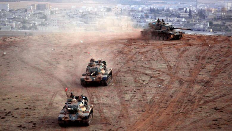 tancuri armata turca in Siria