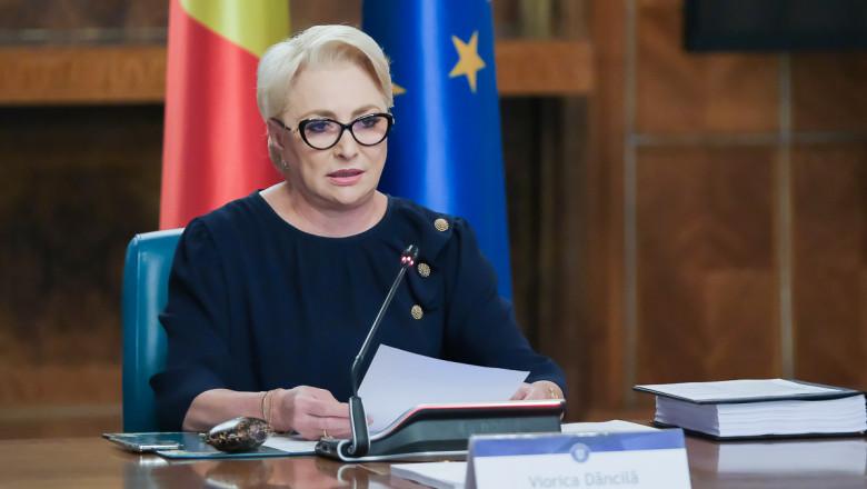 viorica dancila sedinta guvern - gov.ro