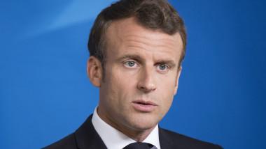 emmanuel macron, presedintele republicii franceze