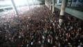 barcelona manifestanti aeroport - twitter