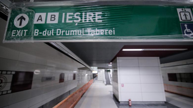 lucrări metrou Drumul Taberei,