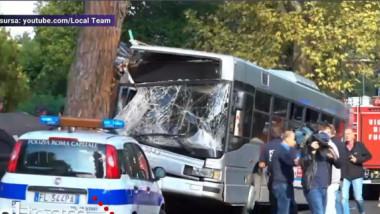 autobuz accident italia