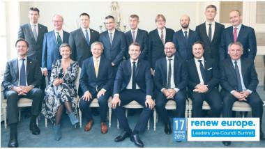 lideri renew europe