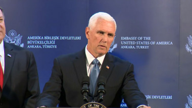 mike pence in turcia