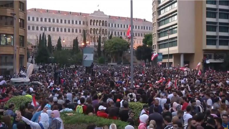 proteste beirut captura youtube