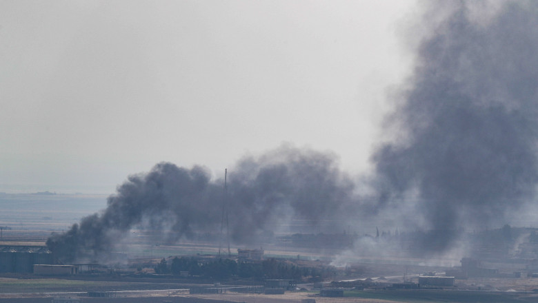 Fighting Continues In Syria Despite Ceasefire Announcement