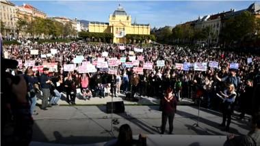 proteste croatia