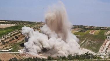 bombardament rusi siria - captura NYT