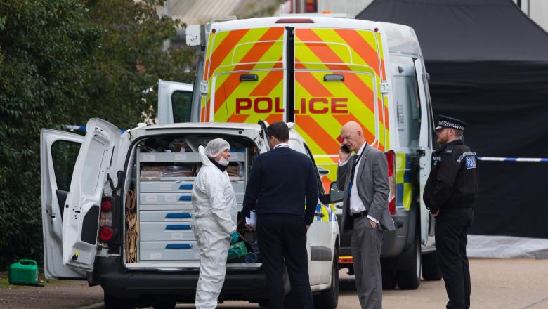 Camion Essex imigranți morți