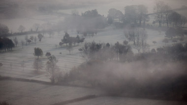 Early Morning Frost is Seen As First Winter Cold Snap Is Forecast