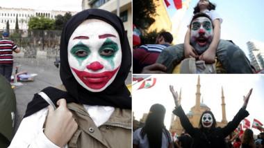 maska lui joker la proteste