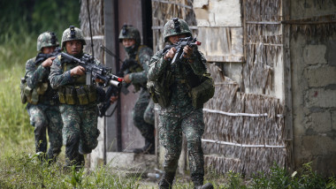 Armed Forces of the Philippines hold military exercises