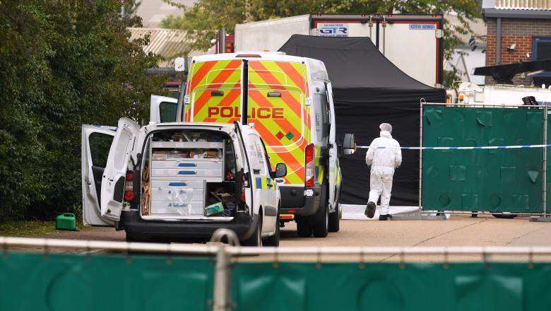 39 Bodies Discovered In Lorry In Thurrock