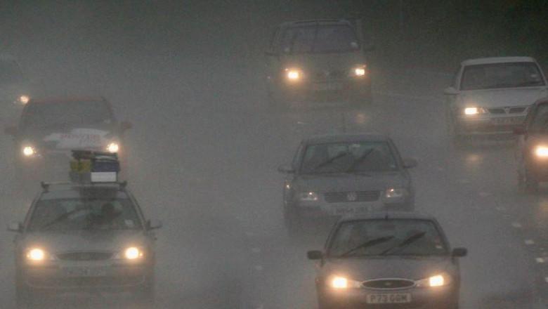 autostrada ploaie getty