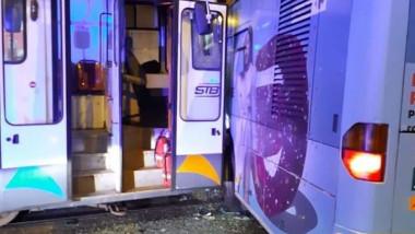 Accident tramvai capat linie 41 041119 (3)