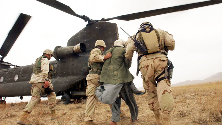 US Special Forces And ANA Hunt Anti-coalition Forces