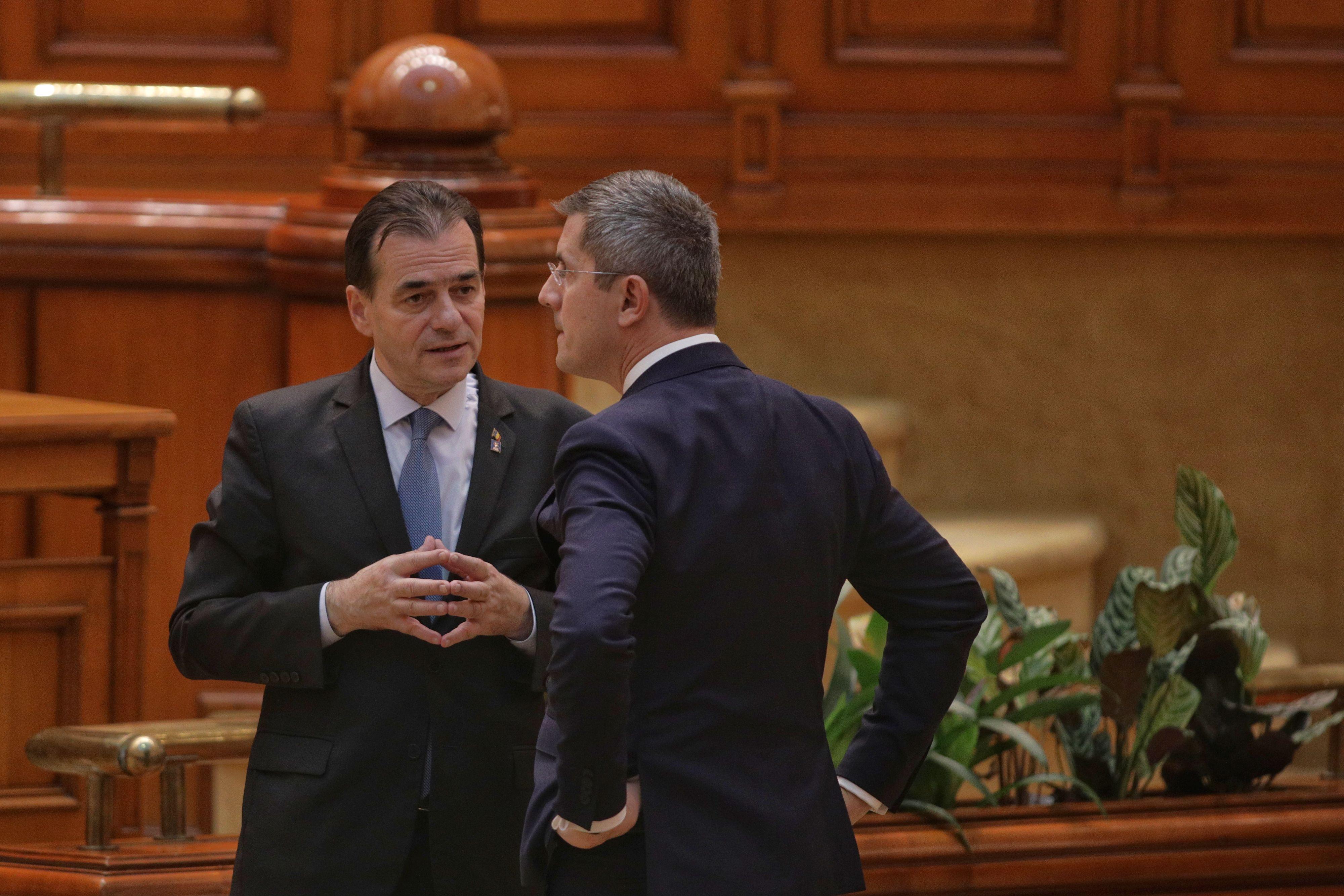 Barna: USR PLUS vrea desfiintarea Sectiei speciale pana in iulie. Orban: Vom gasi cea mai buna solutie in coalitie