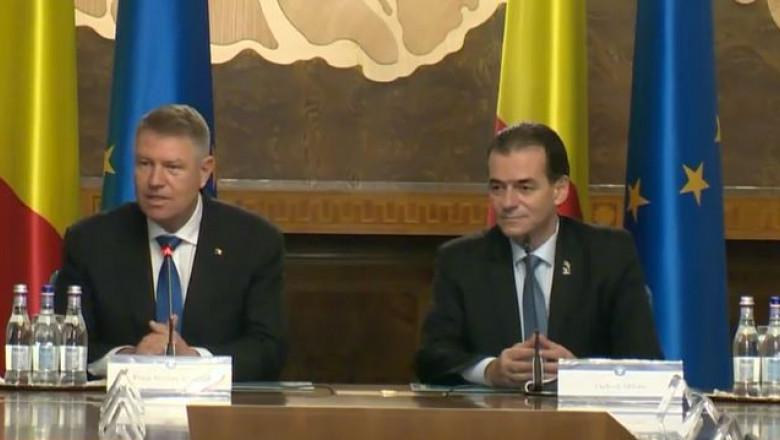 Prima ședință a Guvernului Orban, în această seară la Palatul Victoria