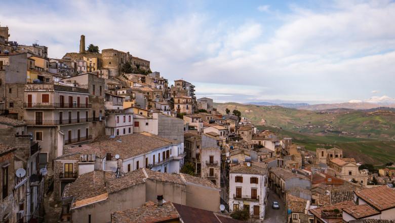 Cammarata in Central Sicily