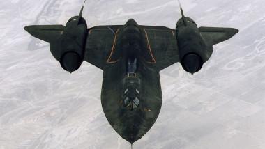 SR-71b ''Blackbird'' aerial reconnaissance aircraft