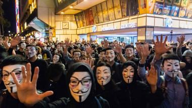 Anti-Government Protests Continue in Hong Kong