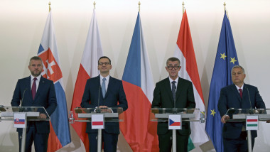 Visegrad Group Friends of Cohesion summit in Prague