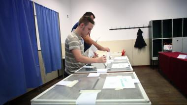 Alegeri prezidentiale 2019, sectie votare