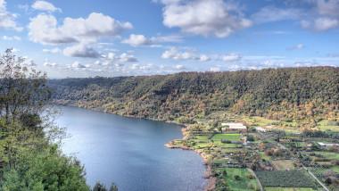 Nemi Lake Landascape
