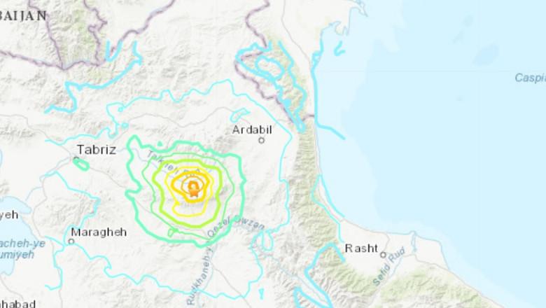 cutremur iran