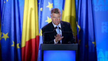 Klaus Iohannis discurs in campanie electorala