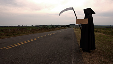 Death hitchhiking