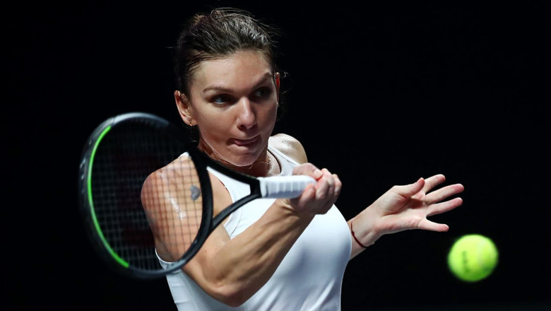simona halep turneul campioanelor 2019 GettyImages-1184861775