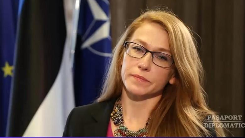 ingrid kressel ambasadoarea estoniei